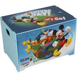 JNH Dětská truhla Mickey Mouse - modrá