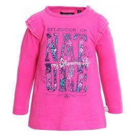 Blue Seven Dívčí tričko Nature - růžové