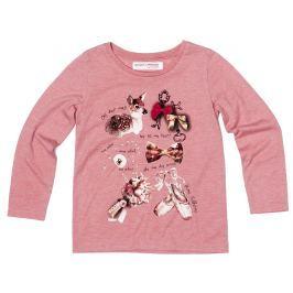 Minoti Dívčí tričko Forest  - růžové