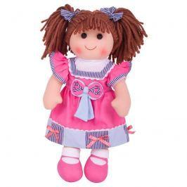 Bigjigs Látková panenka Emma - 38 cm