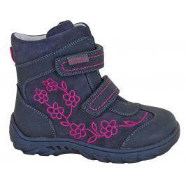 Protetika Dívčí zimní boty Miri - šedé
