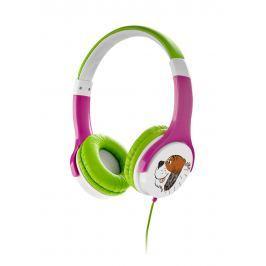 Gogen Sluchátka MAXISLECHY G růžovo-zelené