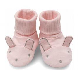 Pinokio Dívčí capáčky/ponožky Colette - růžové