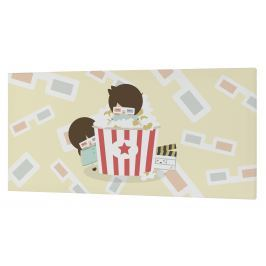 Happynois Nástěnný obraz Pop Corn, 27x54 cm