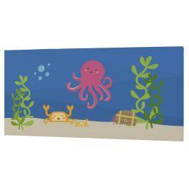 Happynois Nástěnný obraz Yellow Submarine, 27x54 cm