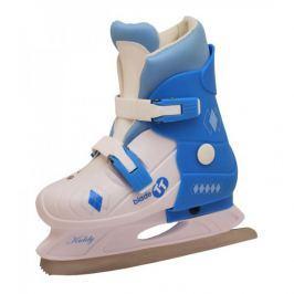 Sulov Dětské zimní brusle, bílo-modré - velikost S