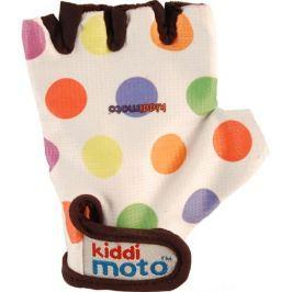 Kiddimoto Cyklistické rukavice Dotty - barevná, velikost M