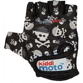 Kiddimoto Cyklistické rukavice Skullz - velikost S
