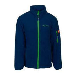 Trollkids Dětská fleecová bunda Arendal - tmavě modrá