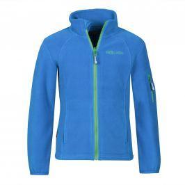 Trollkids Dětská fleecová bunda Arendal - světle modrá