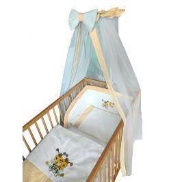 Cosing Dětská 4 dílná sada povlečení De Luxe Včelka - žlutý lem