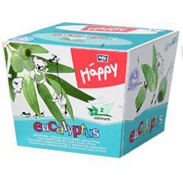 Bella Happy Dětské papírové kapesníky s vůní eukalyptus, 80 ks