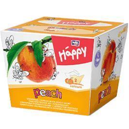 Bella Happy Dětské papírové kapesníky s vůní broskev, 80 ks