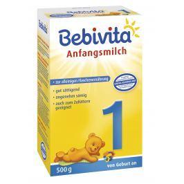 Bebivita Mléko 1 Instantní počáteční mléčná kojenecká výživa od narození - NOVINKA 5x500g