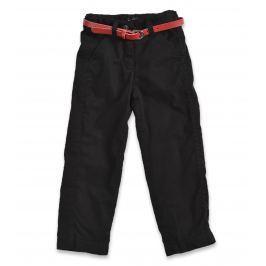 Blue Seven Dívčí kalhoty s páskem - černé