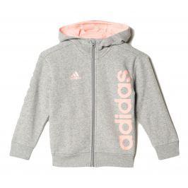adidas Dívčí mikina - šedá