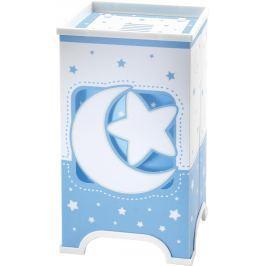 Dalber Dětská stolní lampička LED Moon Blue