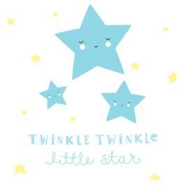 Little Lovely Company Samolepka na zeď, Twinkle, twinkle little star