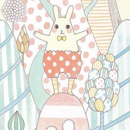 Djeco Tapeta Kouzelny svět králíčka Yoko