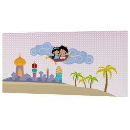 Mr. FOX Nástěnný obraz Aladdin, 27x54 cm