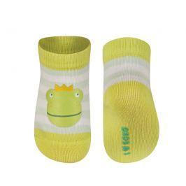 SOXO® Dětské ponožky s žábou  - barevné