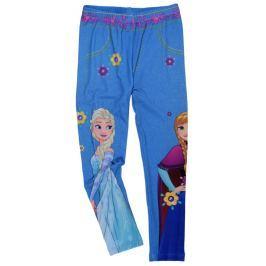 E plus M Dívčí legíny Frozen - modré