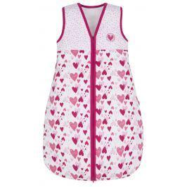 G-mini Dívčí spací pytel Myška - bílo-růžový