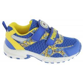 Disney by Arnetta Dětské sportovní tenisky Mimoni - modro-žluté