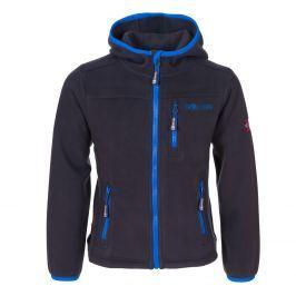 Trollkids Dětská fleecová bunda Stavanger - šedo-modrá