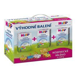 HiPP Batolecí mléko 3 Junior Combiotik  3 x 600g