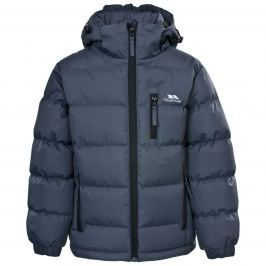 Trespass Chlapecká prošívaná bunda Tuff - tmavě modrá