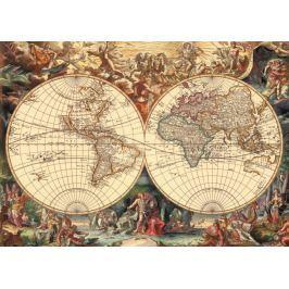 Dino Puzzle Historická mapa 1000 dílků