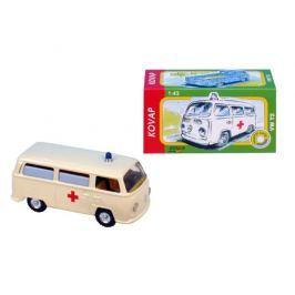 KOVAP Auto VW Ambulance kov 12 cm 1:43