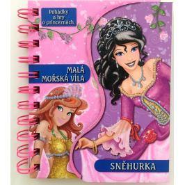 Nakladatelství SUN Sada knížek - Pohádky a hry - 2 Sněhurka/Malá moř.víla a Pohádky a hry - 2 Popelka/Pinocchio