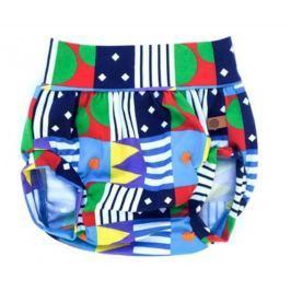 Lamama Dětské kalhotky na plenu Loca - modré