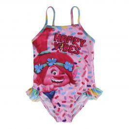 Disney Brand Dívčí plavky Trollové - barevné