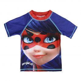 Disney Brand Dívčí plavecké tričko Ladybug - modré