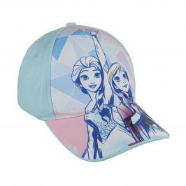 Disney Brand Dívčí kšiltovka Frozen - mentolová
