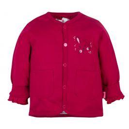 G-mini Dívčí oboustranný kabátek Zajíček - barevný