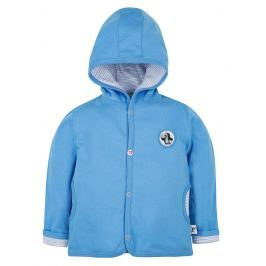 G-mini Chlapecký oboustranný kabátek Krtek a kalhotky - modrý