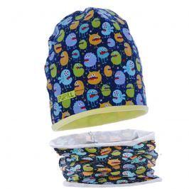 Pupill Chlapecký set čepice a nákrčníku Jose - barevný