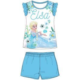 E plus M Dívčí pyžamo Frozen - modrý