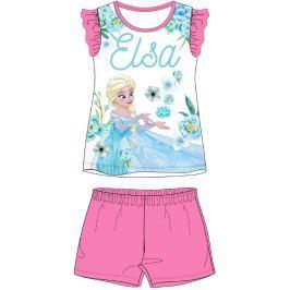 E plus M Dívčí pyžamo Frozen - růžový
