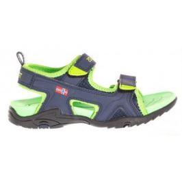 Trollkids Chlapecké Kids Orrestrand sandály - tmavě modro-zelené