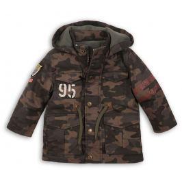 Minoti Chlapecký maskáčový kabát Tiger - hnědý