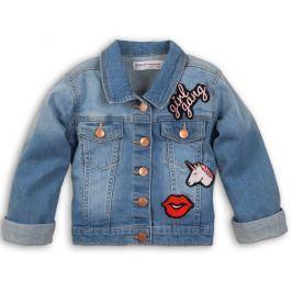 Minoti Dívčí džínová bunda Rebel - modrá