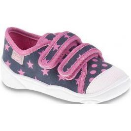 Befado Dívčí tenisky s hvězdičkami Maxi - barevné