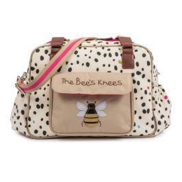 Pink Lining THE BEES KNEES dalmatin - přebalovací taška