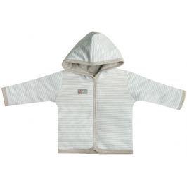 Nini Dětský kabátek s kapucou  - světle modré