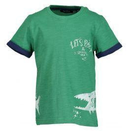 Blue Seven Chlapecké tričko se žralokem - zelené